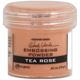 Embossing Powder Tea Rose