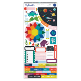 Field Trip Cardstock Stickers