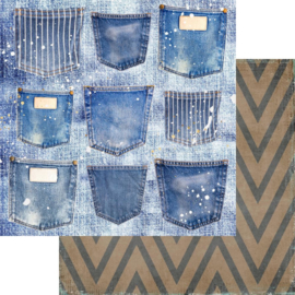 Shades Of Denim Pockets