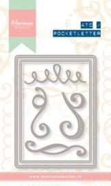 PL6501 Pocket letter stencil