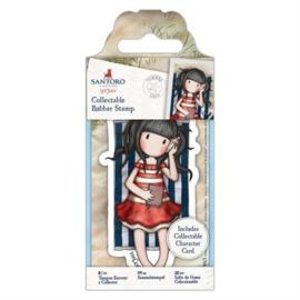 Gorjuss Collectable Rubber Stamp Summer Days