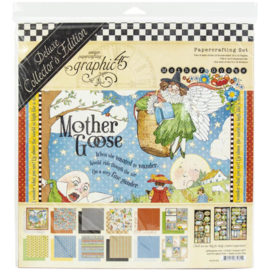 """Mother Goose Deluxe Collector's Edition Pack 12""""X12"""""""