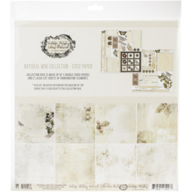 "Vintage Artistry Natural Collection Pack 12""X12"""