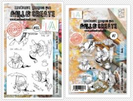 Dies #007 And Stamp #135