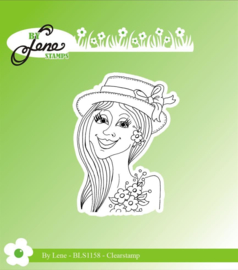 Clear Stamps Lady-1
