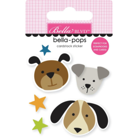 Cooper Pups Bella-Pops 3d Stickers
