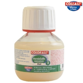 Collall vernisfix decoupage 2 mat 50ml.