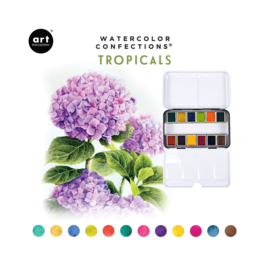 Watercolor Confections Tropicals