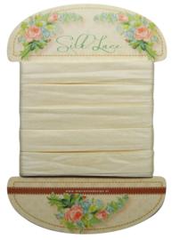 JU0915 Silk lace off white