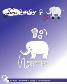 Cutting & Embossing Dies Elephant