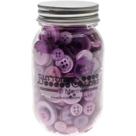 Button Mason Jars Sour Grapes