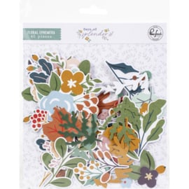 Days Of Splendor Floral Cardstock Die-Cuts