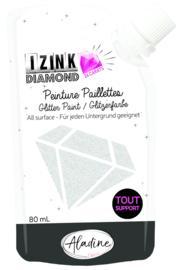 Izink Diamond Glitter Paint 24 Carats Silver