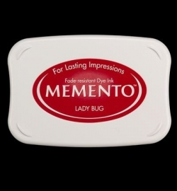 300 Memento ink pad lady bug