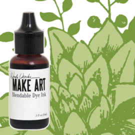 Make Art Dye Ink Pad Reinkers Leaf Green