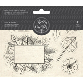 Acrylic Traceable Stamps Tropical
