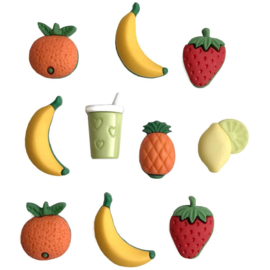 Button Theme Pack Fruit Smoothie