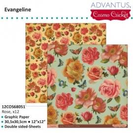 Evangeline paper rose