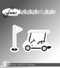Clear Stamps Golf Cart