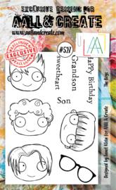 #527 - A6 Stamp Set