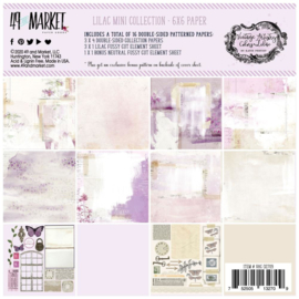 "Vintage Artistry Lilac Collection Pack 6""X6"""