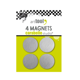 Round magnets x4 units