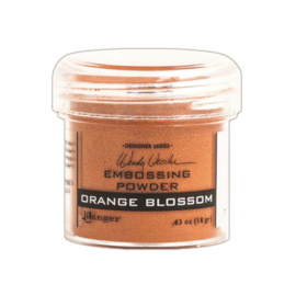 Embossing Powder Orange Blossom