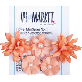 Flower Mini Series 01  Tangerine