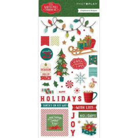 The North Pole Trading Co. Chipboard