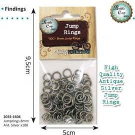 Jewelry findings rings 8mm