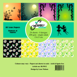 Flowers & Fairies Paper Pack 6x6 Inch