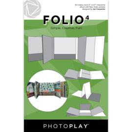 """Folio 6.5""""X6.5"""" White"""