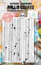 #543 - A7 Stamp Set
