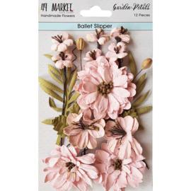 Garden Petals Ballet Slipper