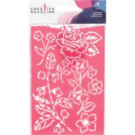 Pink Stencils