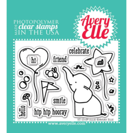 "Clear Stamp Set Ellie 4""X3"""