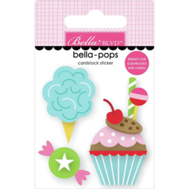 My Candy Girl Bella-Pops 3D Stickers Sugar! Sugar!