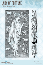 Lucky Star Lady of Fortune clear stamp