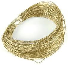 Wire gold/goud 15m