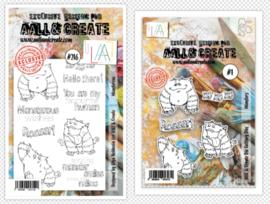 Die #001 and Stamp #216