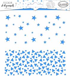 Stencil Duo Stars