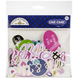Hello Odds & Ends Chit Chat Die-Cut