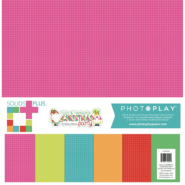 """Tulla & Norbert's Christmas Party Solids + Paper Pack 12""""X12"""""""