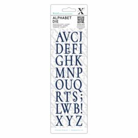 Dies Vintage Alphabet