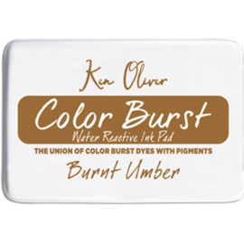 Color Burst Ink Pad Burnt Umber