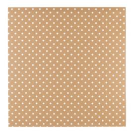 Patterned single-sided white 3D dot