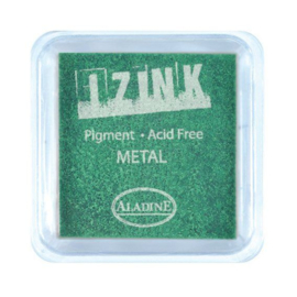 Inkpad Izink Pigment Metal Light Green Small
