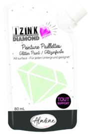 Izink Diamond Glitter Paint 24 Carats Pastel Green
