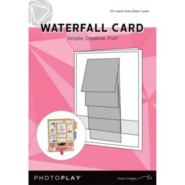 Waterfall Card Makes 3