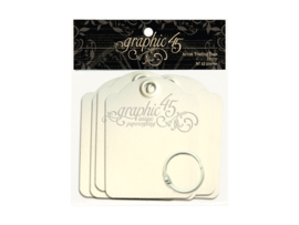 Ivory Artist Trading Tags